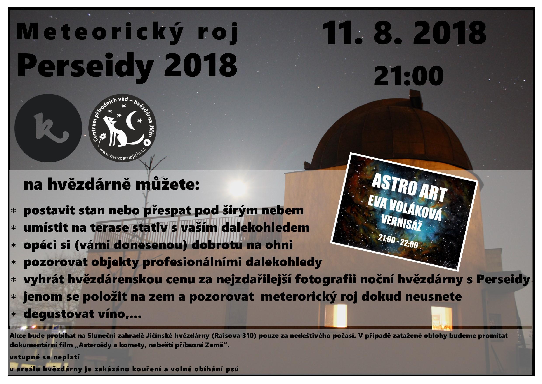 Perseidy Pozorovani 2018